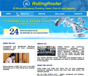 rolling rooter seo
