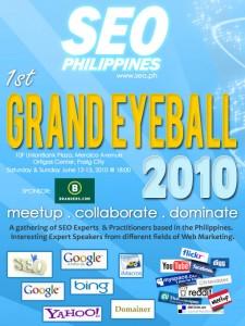 Philippines SEO grand eye ball Training