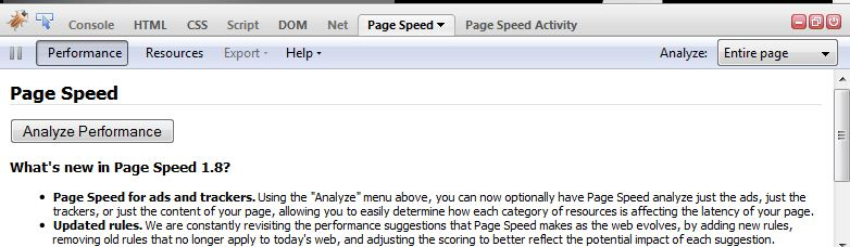 Google speed check tools