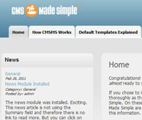 CMS made simple SEO
