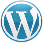 blue-wordpress logo