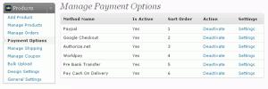 Wordpress Shopping Cart Store Config 6