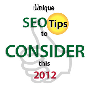 SEO tips logo design