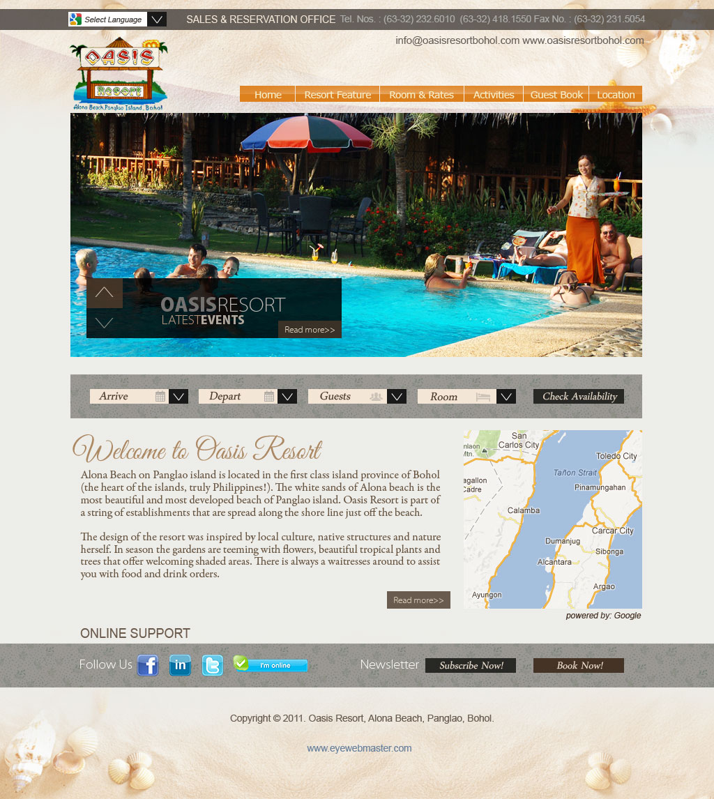 Perfect Resort Web Design