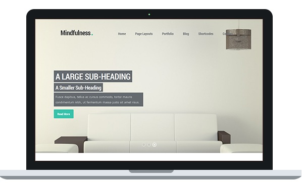 mindfulness WP Theme