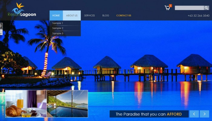 outsource resort theme design