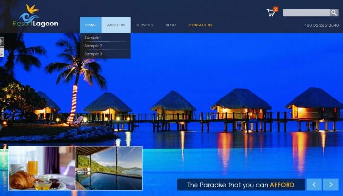 outsource resort theme design