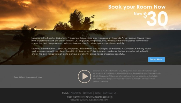 outsource resort theme design 3